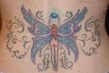 tatto de borboletas