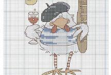 Gallo per fiocco nscita
