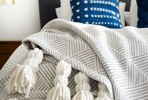 Autumn DIY tassel throw