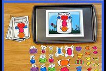 Kindergarten Magnet Station