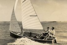 Vintage Sailing / Before they become Sea Bags...