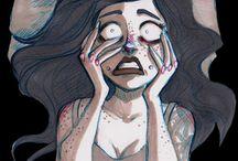 illustration / i love chaos and art
