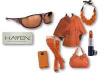Add some fire to winter! / Add color to your winter style and always wear your Haven 'fits over' sunglasses.
