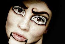 Maquiagem personagens