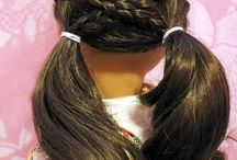 Hair styles for dolls