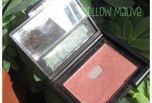 Coloretes / Swatches de los coloretes que tengo: elf, Sleek, Yes Love, MAC
