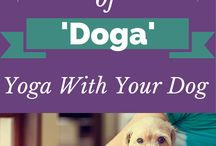 Dog Yoga (Doga) Cuteness- Wuf Shanti / Just because we love our doggie friends. :) Wuf Shanti, dog yoga character for kids. Promotes health, wellness, peace, & positivity. Think Well to Be Well! :)