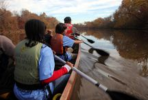 Youth / The Urban Wilderness Canoe Adventures program connects thousands of urban youth to the natural world through hands-on learning adventures in environments that are close to home.