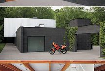 Shipping container hjem