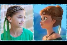 Anna's hair style / Χτενίσματα
