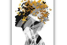 abstract art / abstract art, abstract prints, abstract decor