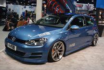 H&R 2015 VW Golf / 2013 #SEMA show photos -  www.LindsayVolkswagen.com - Dulles - Sterling, VA #VW #Volkswagen