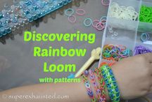Rainbow loom and Friendship  bracelets / by Maria Stowers