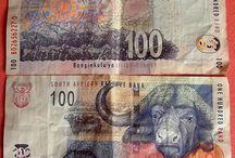 DINHEIROS e MOEDAS / Os dinheiros falam da cultura de seus povos, e fazem parte das surpresas nas viagens.
