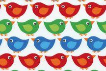 Children's quilt fabric