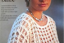 White Crochet blouses,vest,tunica / Blusas,chalecos,tunicas, sweeter, tops / by Martha Salazar