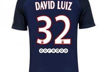 Billige David Luiz trøje / Køb David Luiz trøje 2016/17,Billige David Luiz fodboldtrøjer,David Luiz hjemmebanetrøje/udebanetrøje/3. trøje udsalg med navn.