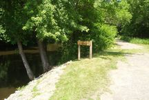 St. Martin Canoe Access / This one acre site is a remnant of the former County Road 113 bridge. It was retained in 1975 by Stearns County as an access to the Sauk River. The Park is open year round from 6 AM to 11 PM.