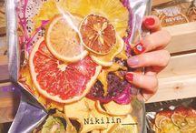 Сухие фрукты и овощи
