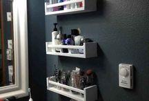 Storage ideas / by Kristen Lowman