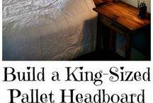 Pallet Headboard