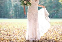 Kelly + Dan 10/24/2015 / Check out this darling couple!! There wedding was featured on Borrowed & Blue.