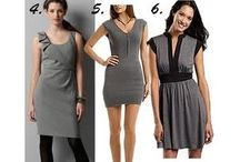 Womens Apparel / Minidress, a short dress with a high hemline equivalent to that found on a mini skirt.