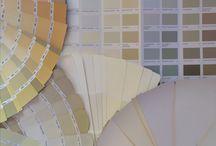 Wróżenie z fusów / Ostatnio towarzyszyłam Iwonce (która właśnie zmienia wygląd swojego salonu) w zastanawianiu się, jakie kolory nie znudzą się przez dłuższy czas.