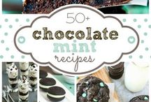 just for blake / Chocolate chip mint cookies and sweets  / by Ashley Nguyen