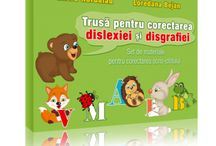 Trusa pentru corectarea dislexiei si disgrafiei