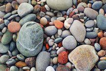 picking up pebbles........