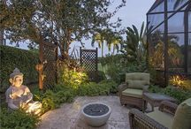 african zen inspired new home