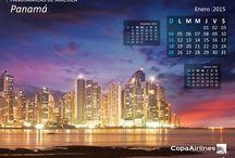 Calendario 2015 / Mes a mes lleva nuestros calendarios directamente a la pantalla de tu computadora, este año con Panorámicas de América. / by Copa Airlines