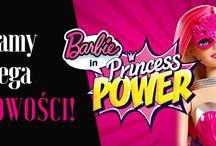 """Filmowe Lalki Barbie / Piękne i popularne lalki celebrytki, które wpadają w oko każdej, nie tylko małej dziewczynce. Mamy królewny, super księżniczki i modnie ubrane modelki  z """"Fashion Tv""""."""