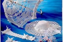 Sombrillas en Crochet