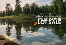 "Land in Tennessee Summer Sale / There has never been a better or more affordable time to purchase property in our ""nature based"" Tennessee Mountain Community. Call us today at (423) 949-7272 to set up your personal tour to come explore the incredible amenities and lifestyle offered."