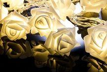 led rose