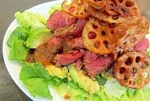 ローストビーフ サラダ