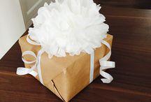 Geschenke / Ideen für Geschenke und Verpackungen