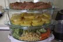 recepty - parní hrnec, vaření v páře