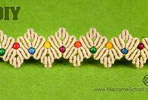 pulseiras de macramê