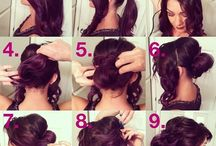 Buns & Hairstyles