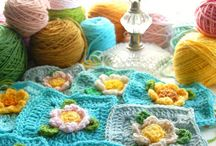 CROCHET granny square and more