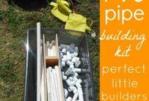 Kid engineers/builders / by Ali Wright