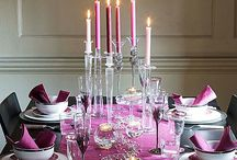 Creative Table Preparation / Ideas for special occasion table setting