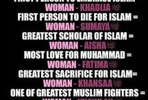 WOMAN IN ISLAM ... to be A Muslimah is A Queen , A Diamond ... Masyaa Allah ... Treat all of the best to your Woman if U are U are a Good Muslim / Because woman are special, precious, the Pillar of Islam