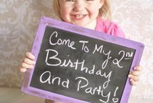 Aleah's 2nd bday party / She's turning 2! / by Rachel Kleiman