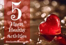 Your Healthy Heart / Your heart is pumping, so it's time for YOU to get pumped along with it!