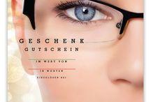 Optiker Geschenkgutscheine / Geschenkgutscheine für Optiker