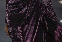 Velvet in fashion